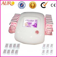 Diode Lippoo Laser 650nm Vacuum Cellulite Removal machine for body Spa AU-66