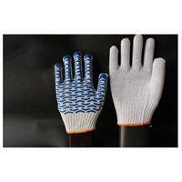 PVC dotts nylon work gloves