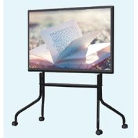 55 inch portable finger multi touch educational smart whiteboard