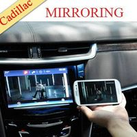 wholesale AV TV RGB input rear view parking guidance line mirroring cadillac car video interface