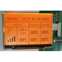 LCD for Room Thermostat