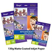 Inkjet Matte coated photo paper 108,128,180gsm (Compatible with inkjet printers) thumbnail image