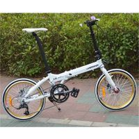 20inch full alu 16speeds folding bike