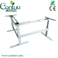 THREE COLUMNS TABLE,HEIGHT ADJUSTABLE TABLE,L-SHAP,OFFICE DESK,LIFTING TABLE,COMPUTER DESKE,
