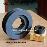 Cast iron taper bush pulley SPB