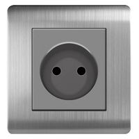 ARTDNA stainless steel 16A 2 Pin European socket