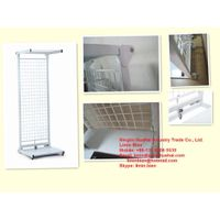 Folding metal display shelf thumbnail image