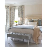 latest double bed designs item C123 queen size bed dimensions thumbnail image