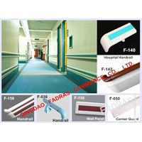 Hospital PVC Corridor Handrails/ Wall Protection Wall Panel / Corner Guard/PVC Wall Corner Guard/PVC