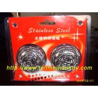 stainelss steel scourer for kitchen cleaning