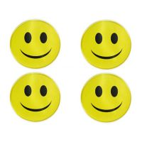 Smile sticker non-setting adhesive