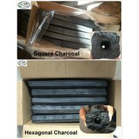 A grade(BBQ) Hardwood Sawdust pressed Briquette charcoal cheap price thumbnail image