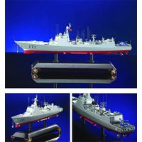 diecast ship model New DDG Type 052C Guided Missile Destroyer
