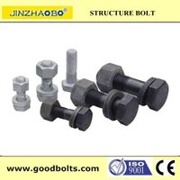 ASTM A390 HDG M12~M14 High Strength Bolts For Steel Structure