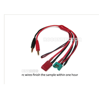 KT-5002 4.0mm to Deans/MPX/DIY extra wire 14AWG 30cm silicone wire