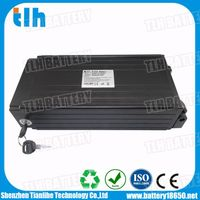 750W 48V 12Ah Li-ion Electric bike rear rack battery