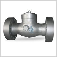 Pressure seal tilting disc check valves thumbnail image
