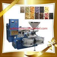 Hot/Cold Peanut Sesame Flax Olive Spiral Oil Press Machine