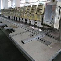 20 heads SWF embroidery machine