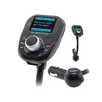 2017 T10 Stereo Handsfree car kit wireless Bluetooth Car charger mp3 player FM transmitter with dual