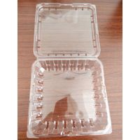 Custom Clear Transparent Recyclable PET Plastic Macaron Chacolate Tray Blister Gift Packaging Box thumbnail image