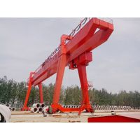 Mobile Wheels Industrial Electric Trolley Double Beam Gantry Crane Supplier thumbnail image