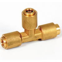 Nylon Hose Pipe connector equal tee PA12 connector thumbnail image