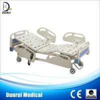 manual three functions hospital bed