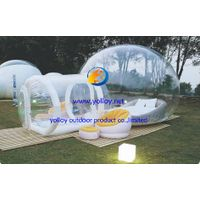 Inflatable clear bubbles  tent