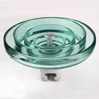 High voltage anti-fog type Toughened Glass Insulator