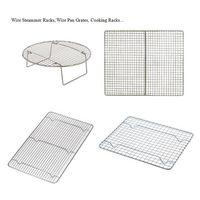 Wire pan grates, baking racks, icing racks Cooling Racks