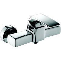 wall mounted single handle shower mixer bath faucet