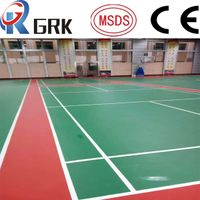 Silicon PU System Sport Flooring Indoor and Outdoor basketball court coating