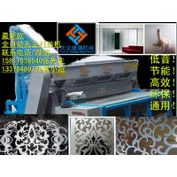 Covered glass processing machine