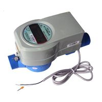 Electronic intelligent water meter (AMR system)