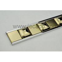 stainless steel decor trim,tile trim