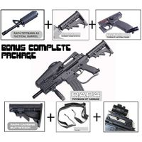 Tippmann X7 Phenom Electronic Paintball Marker Gun Upgrade Package with M4 Carbine Kit