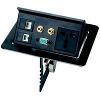ZCY-165/L   Aluminum Press  type table socket
