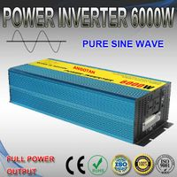 6000W Power Inverter with Stable Performance