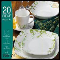 fine porcelain dinner set/ germany dinner set porcelain