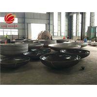small carbon steel elliptical head ASME pressure vessel end thumbnail image