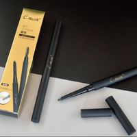 double sided best powder auto eyebrow pencil 0.3g black with brush natural look thumbnail image
