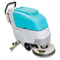 high performance hand push floor scrubber