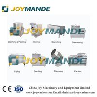 Industrial Potato Chips French Fries Plantain Chips Making Machine Production Line thumbnail image