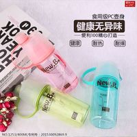 Mist sport spray water gift bottle bpa free dual use outdoor