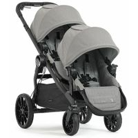 Baby Jogger City Select Lux Twin Double Stroller w Second Seat Slate OPEN BOX thumbnail image