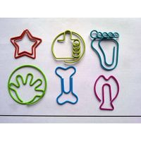 star shaped paper clips