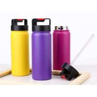 China supplier eco friendly double wall stainless steel insulated vacuum flask