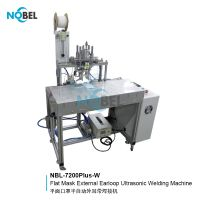 NBL-7200Plus-W Flat Mask Earloop Ultrasonic Welding Machine