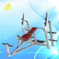 Gym equipment machine-luxurious incline bench,incline bench gym equipment,dumbbell gym bench